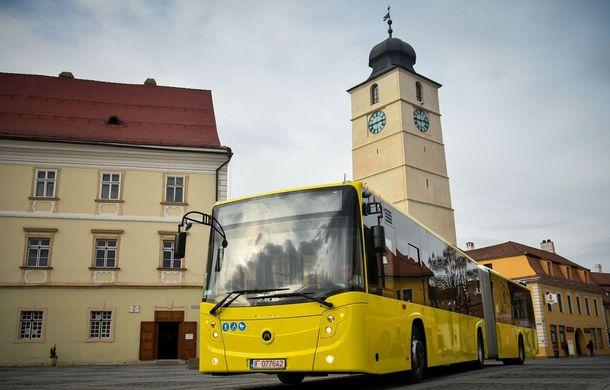 Wi-Fi gratuit în peste 100 de autobuze din Sibiu: parteneriat între primărie, Continental și Orange - Poza 1
