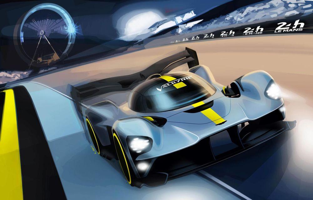 Hypercar-ul Valkyrie va lua startul în Campionatul Mondial de Anduranță: Aston Martin vrea să obțină și victoria la Le Mans în 2021 - Poza 1
