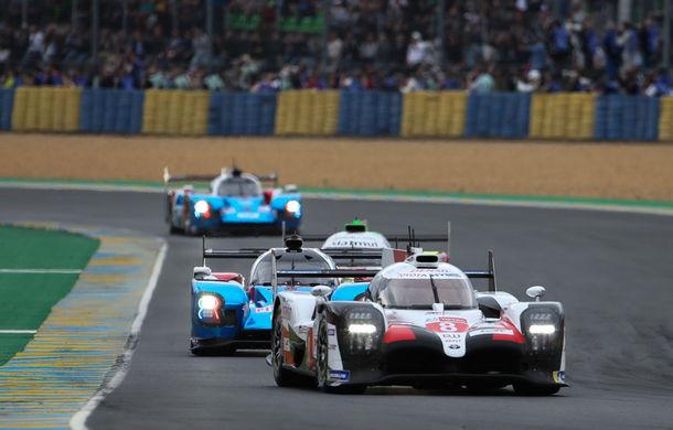 Rezumat video de 60 de minute: Toyota a câștigat Cursa de 24 de ore de la Le Mans cu echipajul #8 Alonso, Nakajima și Buemi după o pană a echipajului #7 - Poza 4