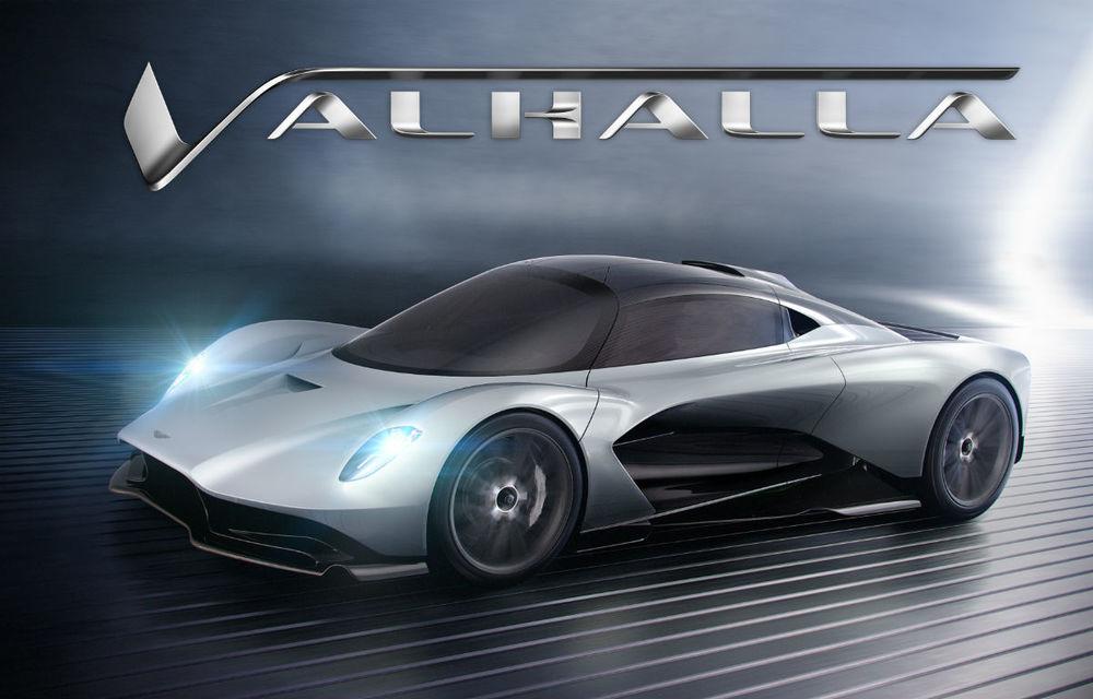 Aston Martin continuă să se inspire din mitologia nordică: Valhalla este numele oficial pentru hypercar-ul AM-RB 003 - Poza 1
