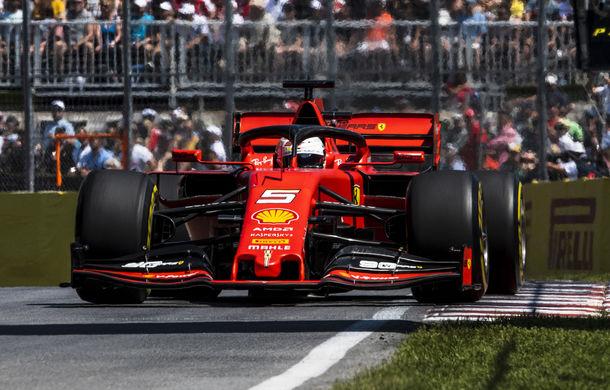 Ferrari a cerut oficial rejudecarea penalizării lui Vettel din Canada: Scuderia nu a oferit detalii despre noile dovezi - Poza 1