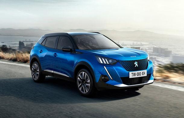 Noua generație Peugeot 2008: dimensiuni mai mari, design modern și versiune electrică cu autonomie de 310 kilometri - Poza 1