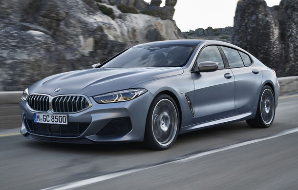 BMW Seria 8 Gran Coupe: versiunea cu patru uși oferă mai mult spațiu pentru pasageri și preia designul și motorizările lui Seria 8 Coupe - Poza 1