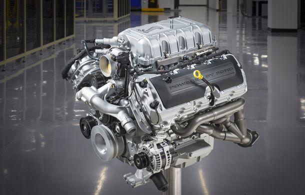Cel mai puternic V8 din istoria Ford: Shelby GT500 are 760 de cai putere și un cuplu de 850 Nm - Poza 2