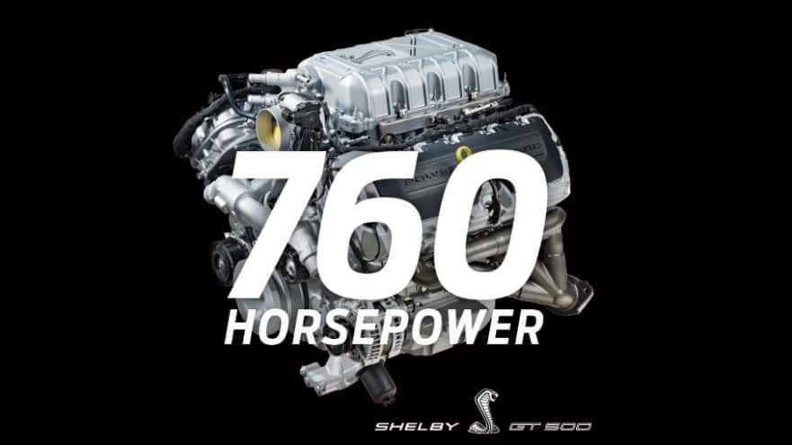 Cel mai puternic V8 din istoria Ford: Shelby GT500 are 760 de cai putere și un cuplu de 850 Nm - Poza 1