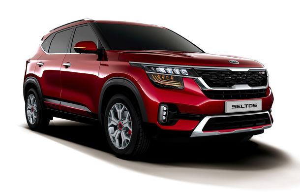 Primele imagini și informații despre Kia Seltos: noul SUV de clasa mică are faruri și stopuri LED și motoare diesel și pe benzină de până la 177 CP - Poza 1