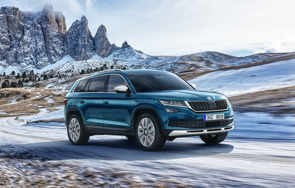 Skoda pregătește un facelift pentru Kodiaq: varianta îmbunătățită a SUV-ului din Cehia va fi prezentată în 2020 - Poza 1