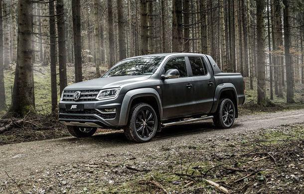 Pachete de performanță pentru Volkswagen Amarok: pick-up-ul nemților primește 306 CP din partea ABT - Poza 1