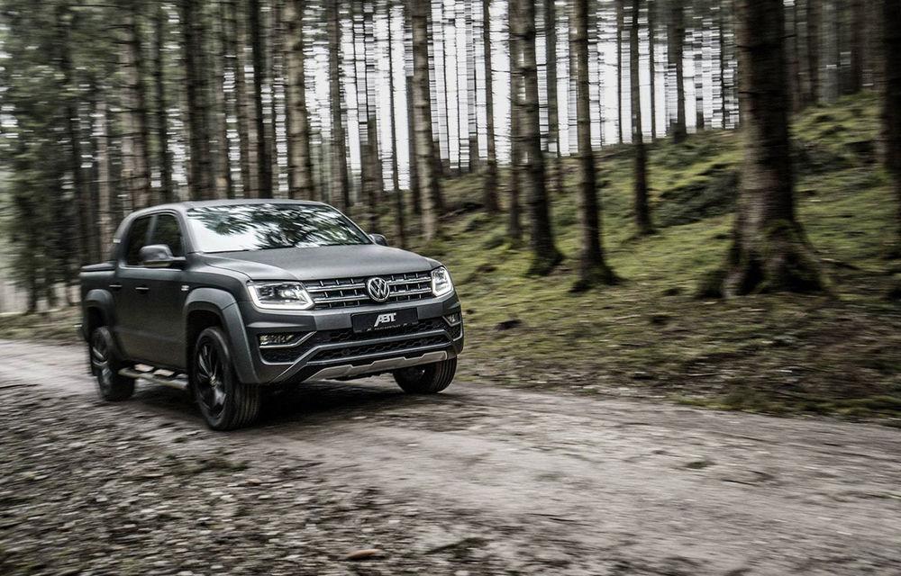 Pachete de performanță pentru Volkswagen Amarok: pick-up-ul nemților primește 306 CP din partea ABT - Poza 3