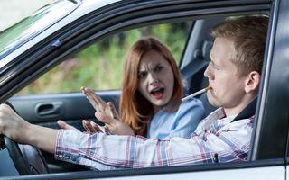 Proiect de lege: fumatul va fi interzis în mașinile în care se află minori sau femei însărcinate