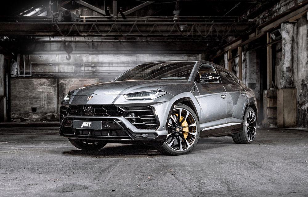 Lamborghini Urus primește un pachet de performanță din partea ABT: motorul V8 dezvoltă acum 710 CP și 910 Nm - Poza 1
