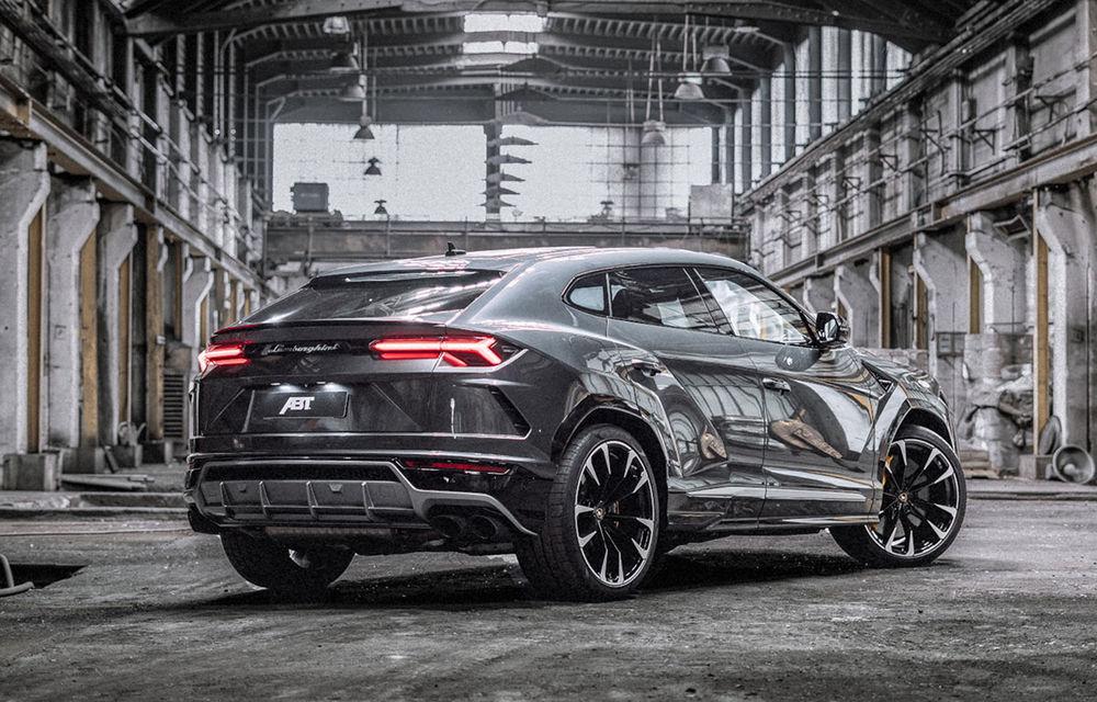 Lamborghini Urus primește un pachet de performanță din partea ABT: motorul V8 dezvoltă acum 710 CP și 910 Nm - Poza 2