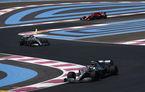 Mercedes a dominat antrenamentele din Franța: Hamilton și Bottas, cei mai rapizi