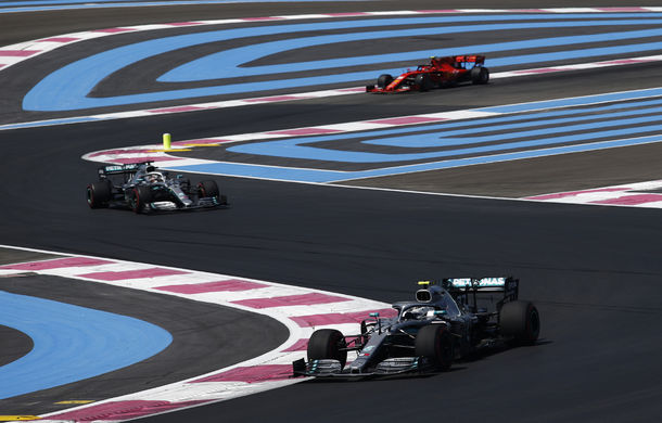 Mercedes a dominat antrenamentele din Franța: Hamilton și Bottas, cei mai rapizi - Poza 1