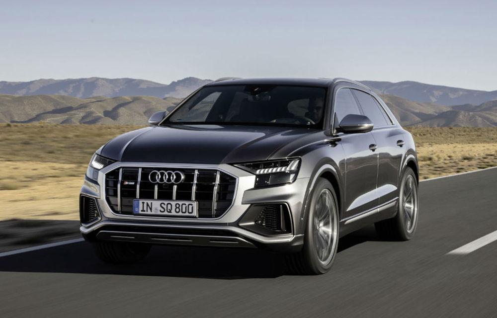 Diesel la putere. Noul Audi SQ8 primește cel mai puternic diesel de pe piață: 435 CP și 900 Nm - Poza 1