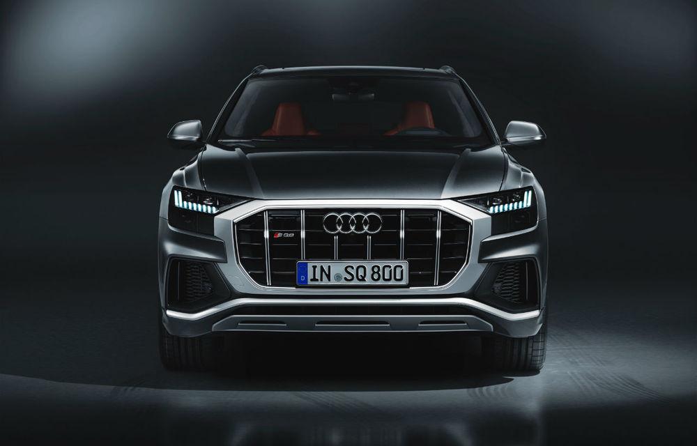 Diesel la putere. Noul Audi SQ8 primește cel mai puternic diesel de pe piață: 435 CP și 900 Nm - Poza 2