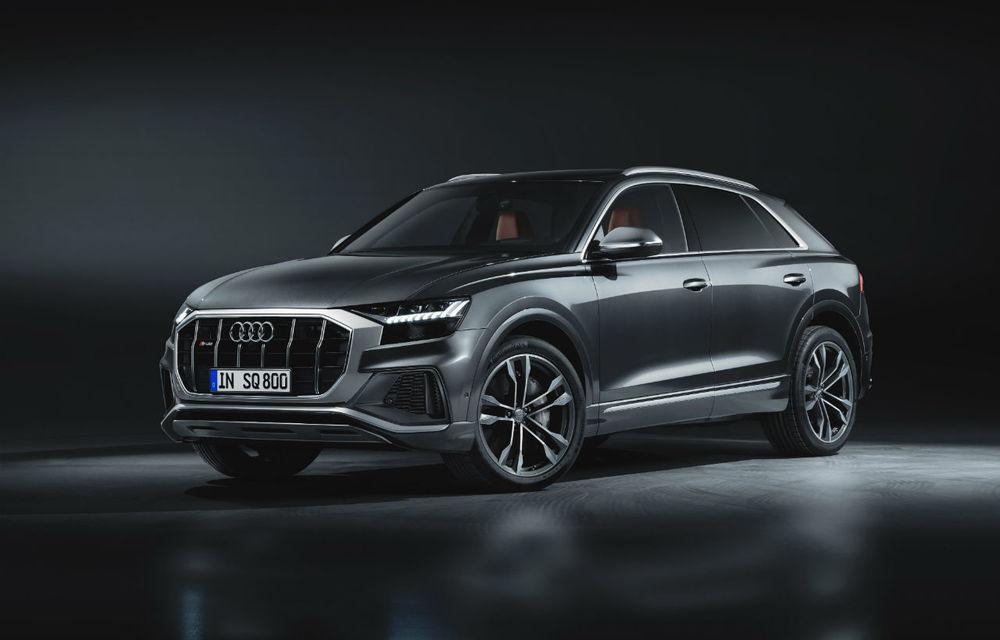 Diesel la putere. Noul Audi SQ8 primește cel mai puternic diesel de pe piață: 435 CP și 900 Nm - Poza 3