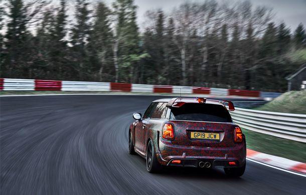 Doctorat pe Nurburgring: viitorul Mini John Cooper Works GP își arată calitățile sportive pe Iadul Verde - Poza 18