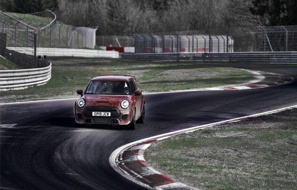 Doctorat pe Nurburgring: viitorul Mini John Cooper Works GP își arată calitățile sportive pe Iadul Verde - Poza 9