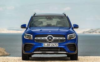 Viitorul Mercedes-Benz EQB va fi lansat în 2021: SUV-ul electric va prelua o mare parte din designul noului GLB