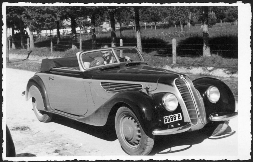 Concursul de Eleganță Sinaia 2019 are loc în acest weekend: un exemplar BMW 327 cumpărat din București în anii '30 revine în România după o jumătate de secol - Poza 4