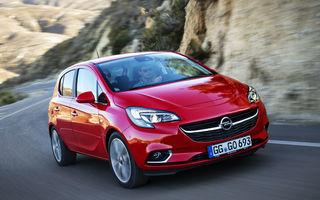 Opel cheamă în service peste 1.000 de unități Adam și Corsa din România: emisiile motoarelor pe benzină sunt peste limitele admise
