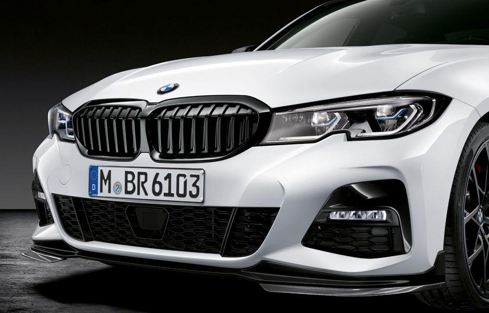 Pachete M Performance pentru noile BMW Seria 8 Gran Coupe și Seria 3 Touring: elemente noi de caroserie și accesorii speciale pentru interior - Poza 11