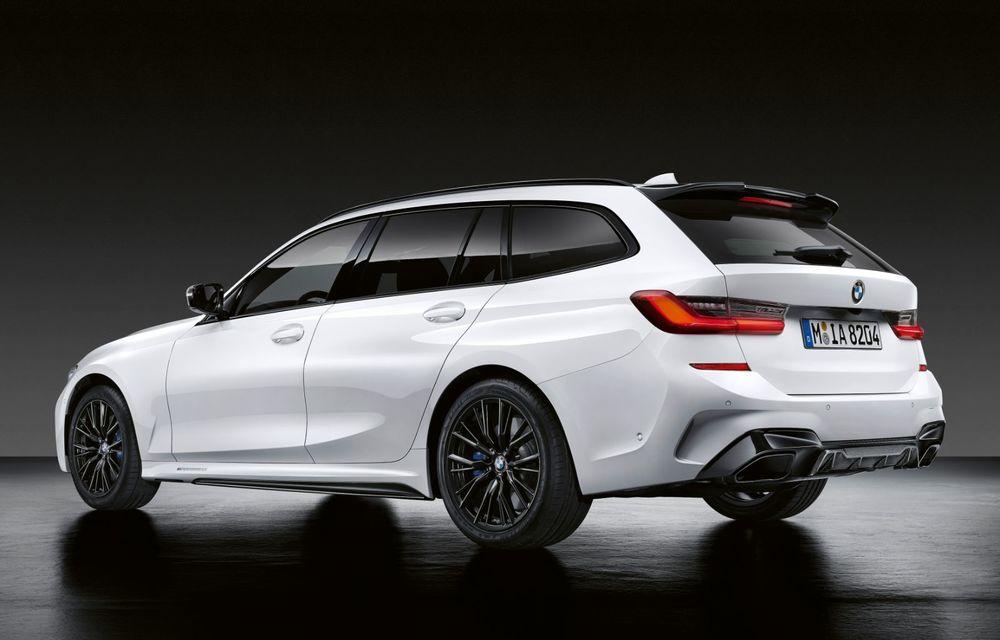 Pachete M Performance pentru noile BMW Seria 8 Gran Coupe și Seria 3 Touring: elemente noi de caroserie și accesorii speciale pentru interior - Poza 10