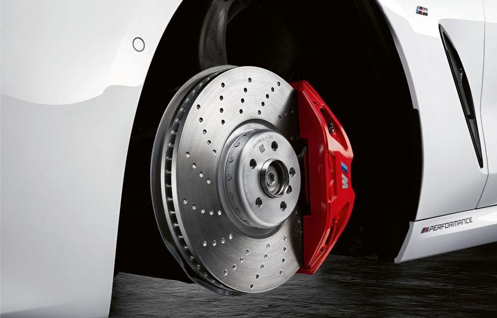 Pachete M Performance pentru noile BMW Seria 8 Gran Coupe și Seria 3 Touring: elemente noi de caroserie și accesorii speciale pentru interior - Poza 7