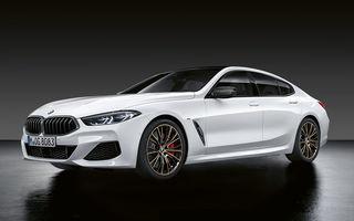 Pachete M Performance pentru noile BMW Seria 8 Gran Coupe și Seria 3 Touring: elemente noi de caroserie și accesorii speciale pentru interior