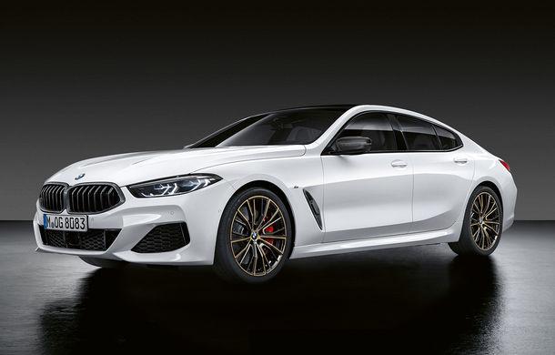 Pachete M Performance pentru noile BMW Seria 8 Gran Coupe și Seria 3 Touring: elemente noi de caroserie și accesorii speciale pentru interior - Poza 1
