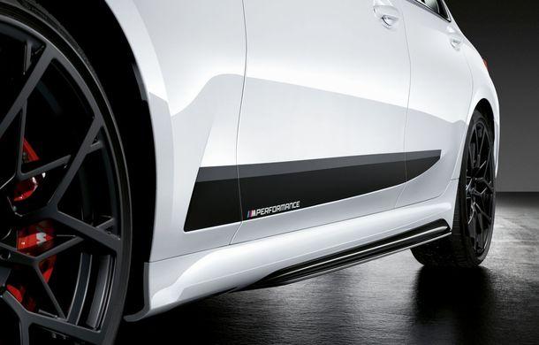 Pachete M Performance pentru noile BMW Seria 8 Gran Coupe și Seria 3 Touring: elemente noi de caroserie și accesorii speciale pentru interior - Poza 14