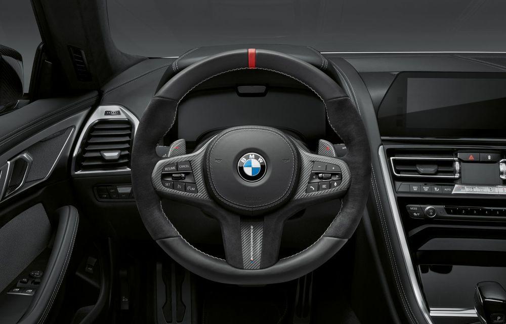 Pachete M Performance pentru noile BMW Seria 8 Gran Coupe și Seria 3 Touring: elemente noi de caroserie și accesorii speciale pentru interior - Poza 9