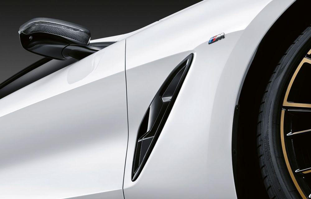 Pachete M Performance pentru noile BMW Seria 8 Gran Coupe și Seria 3 Touring: elemente noi de caroserie și accesorii speciale pentru interior - Poza 4