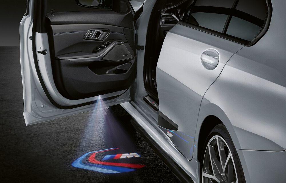 Pachete M Performance pentru noile BMW Seria 8 Gran Coupe și Seria 3 Touring: elemente noi de caroserie și accesorii speciale pentru interior - Poza 16