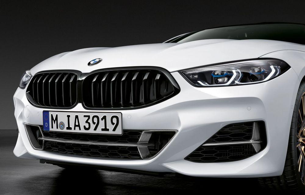 Pachete M Performance pentru noile BMW Seria 8 Gran Coupe și Seria 3 Touring: elemente noi de caroserie și accesorii speciale pentru interior - Poza 2