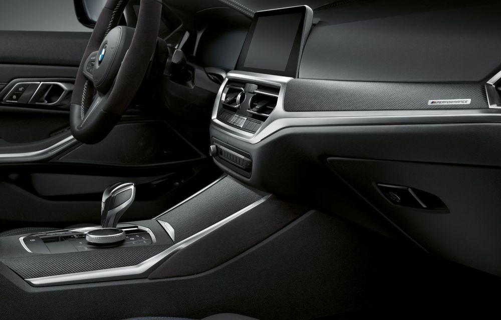 Pachete M Performance pentru noile BMW Seria 8 Gran Coupe și Seria 3 Touring: elemente noi de caroserie și accesorii speciale pentru interior - Poza 19