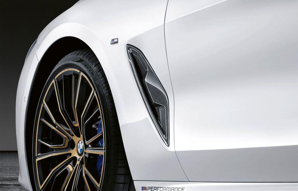 Pachete M Performance pentru noile BMW Seria 8 Gran Coupe și Seria 3 Touring: elemente noi de caroserie și accesorii speciale pentru interior - Poza 3