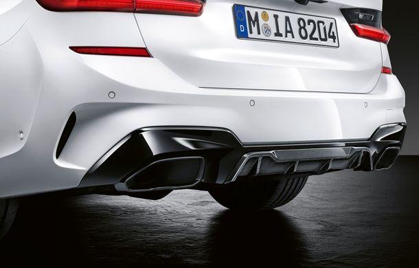 Pachete M Performance pentru noile BMW Seria 8 Gran Coupe și Seria 3 Touring: elemente noi de caroserie și accesorii speciale pentru interior - Poza 17