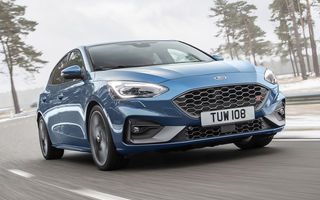 Informații noi despre Ford Focus ST: 0-100 km/h în 5.7 secunde și viteză maximă de 250 km/h
