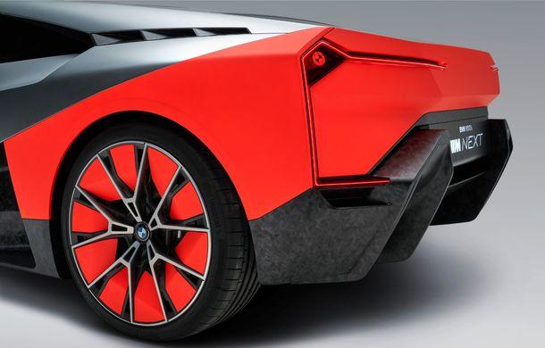 BMW a prezentat conceptul Vision M Next: prototipul cu sistem plug-in hybrid cu 600 CP anticipează viitorul modelelor din gama M - Poza 11
