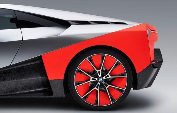 BMW a prezentat conceptul Vision M Next: prototipul cu sistem plug-in hybrid cu 600 CP anticipează viitorul modelelor din gama M - Poza 8