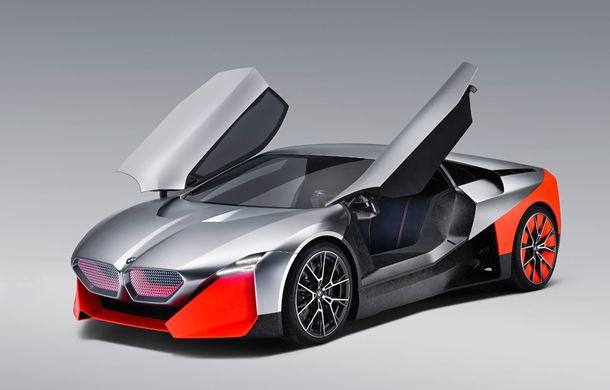 BMW a prezentat conceptul Vision M Next: prototipul cu sistem plug-in hybrid cu 600 CP anticipează viitorul modelelor din gama M - Poza 7