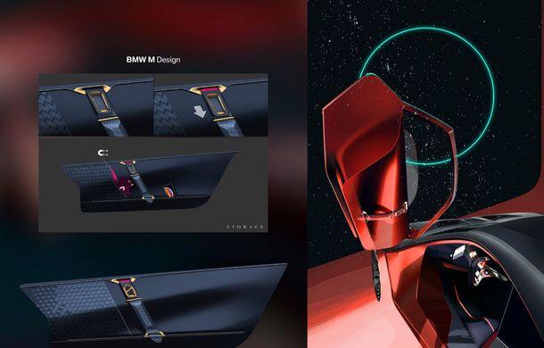 BMW a prezentat conceptul Vision M Next: prototipul cu sistem plug-in hybrid cu 600 CP anticipează viitorul modelelor din gama M - Poza 62