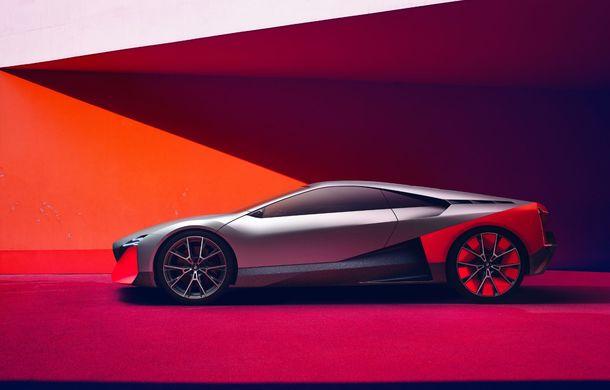 BMW a prezentat conceptul Vision M Next: prototipul cu sistem plug-in hybrid cu 600 CP anticipează viitorul modelelor din gama M - Poza 15