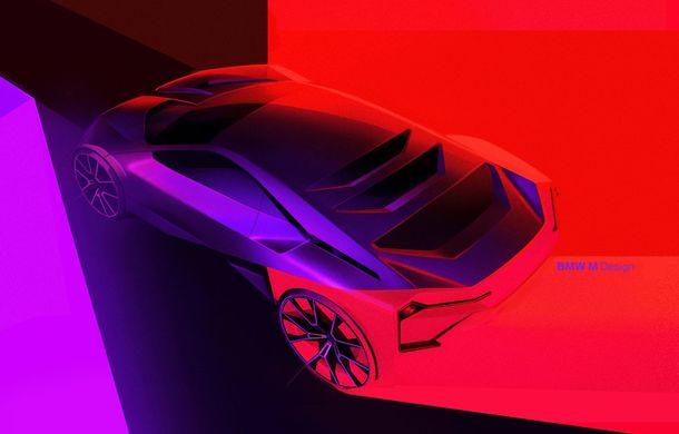 BMW a prezentat conceptul Vision M Next: prototipul cu sistem plug-in hybrid cu 600 CP anticipează viitorul modelelor din gama M - Poza 52