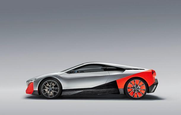 BMW a prezentat conceptul Vision M Next: prototipul cu sistem plug-in hybrid cu 600 CP anticipează viitorul modelelor din gama M - Poza 3
