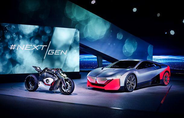 BMW a prezentat conceptul Vision M Next: prototipul cu sistem plug-in hybrid cu 600 CP anticipează viitorul modelelor din gama M - Poza 23