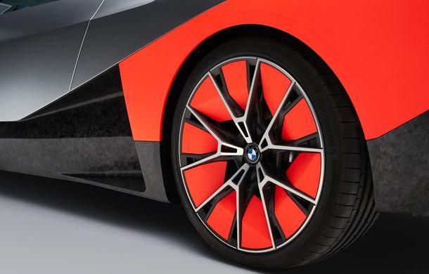BMW a prezentat conceptul Vision M Next: prototipul cu sistem plug-in hybrid cu 600 CP anticipează viitorul modelelor din gama M - Poza 10