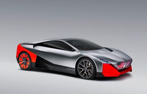 BMW a prezentat conceptul Vision M Next: prototipul cu sistem plug-in hybrid cu 600 CP anticipează viitorul modelelor din gama M - Poza 2